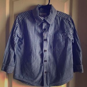 3T little mans button up dress shirt